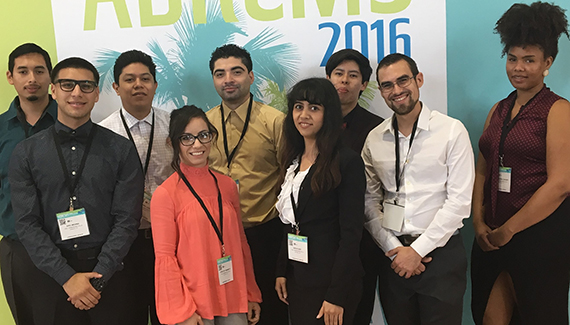 Research Students Gain Insights and Experience at National Science Conference
