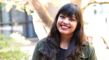 DACA Student Aimee Vaquera Welcomes Undocumented and Other Students with Support