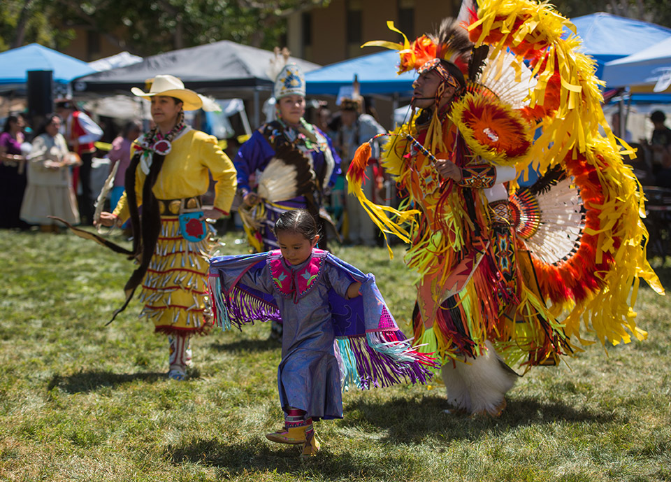 6th Annual CSUDH Pow Wow held at CSUDH on April 16 and 17 of 2016