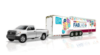 Toyota and CSUDH Dedicate Mobile Fabrication Laboratories