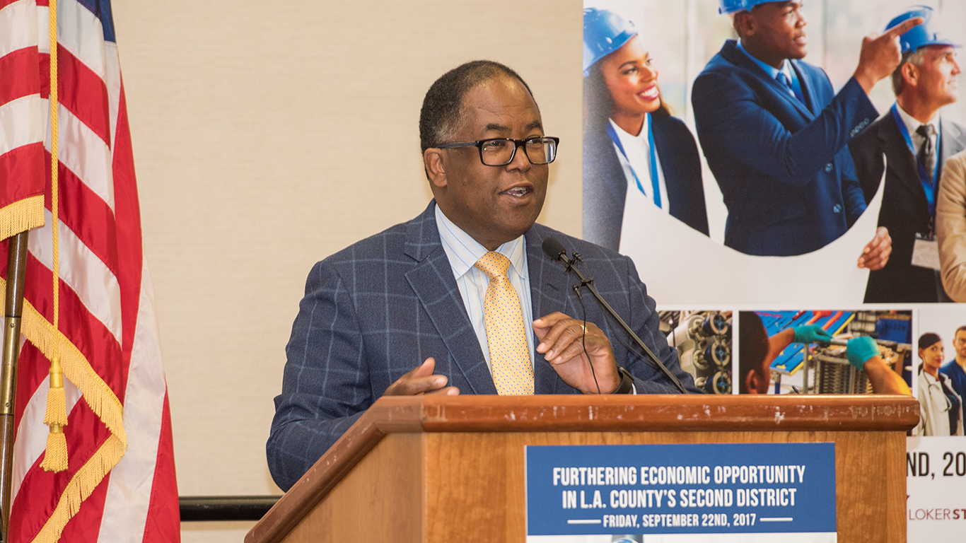Founders' Dinner, Economic Opportunity in L.A. County's Second District, Mark Ridley-Thomas